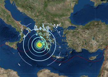 Tërmet i fuqishëm në Greqi, ndjehet edhe në Turqi