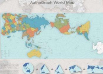 Kjo është harta më e saktë e botës dhe nuk është ashtu sikur e dimë