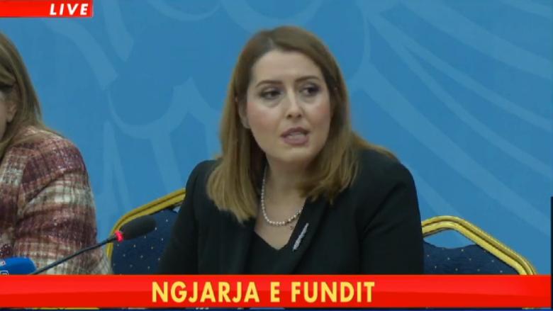 Ministrja Manastirliu del me lajmin e mirë ç do ndodhë në ditët në vijim