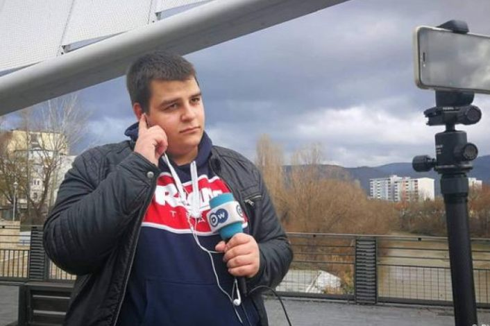 Studenti serb që ndërroi mendje pas dy ditësh qëndrimi në Kosovë