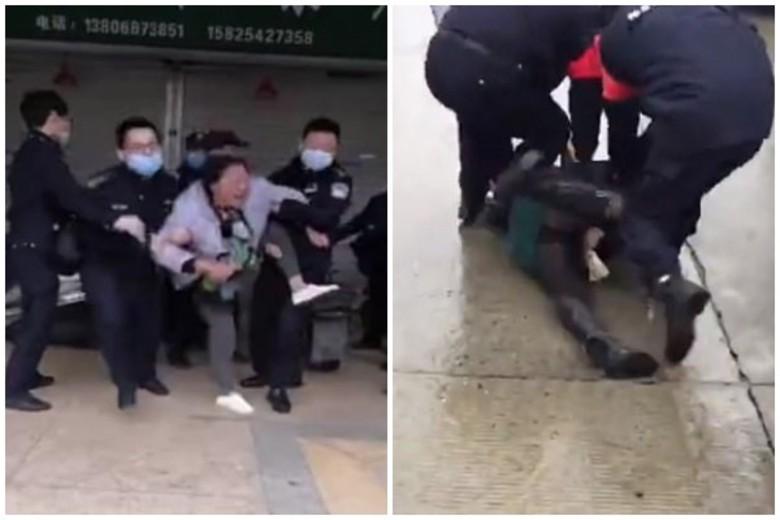 Pamje tronditëse nga Kina! Koronavirusi, shihni si merren njerëzit me forcë për t'u futur në karantinë (VIDEO)