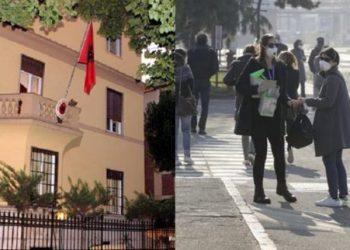 Situata nga virusi, Ambasada e Shqipërisë në Itali ka një apel të fortë për qytetarët që udhëtojnë në vendin fqinj