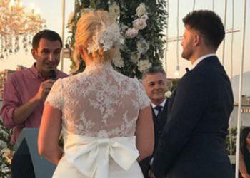 """""""Doli e tëra jashtë parashikimeve"""", moderatorja e njohur rrëfen detaje nga ceremonia martesore: Kryetari më tha ju lutem mos shkelni barin"""