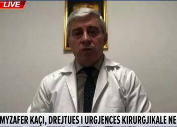 Drejtori i Urgjencës së Kirurgjisë flet për situatën e rëndë: Kjo i ngjan një plage të madhe. Ja ç'ndodh këtu