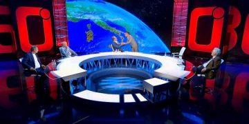 Plas sherri! Fyeu Altin Bashën, aktori i Portokallisë përplaset me poetin Agim Doçi dhe largohet nga emisioni (VIDEO)