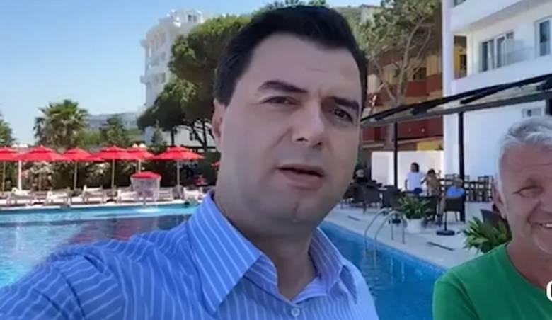 'Jemi në Kavajë jo Golem', pronari i hotelit e korrigjon, Taulant Balla ironizon keq Bashën (VIDEO)