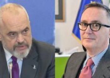 Ambasadori i Italisë takon kryeministrin Rama, zbardhen detajet çfarë kanë diskutuar mes tyre