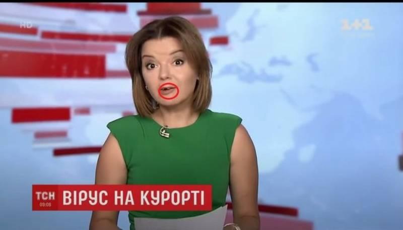 I bie dhëmbi gjatë transmetimit live, moderatorja e lajmeve bën veprimin e papritur (FOTO)