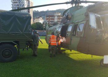 Xhaçka shkoi me helikopter në Kakavijë? Reagon Ministria e Mbrojtjes: Ja e vërteta