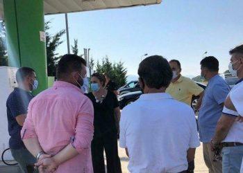 Problemet në kufi, ministrja Xhaçka mbërrin në Kakavijë, ja me kë takohet