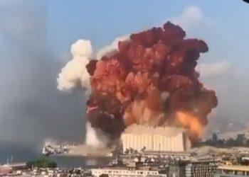 Një shpërthim i fuqishëm trondit Libanin: Plagosen disa persona, kaos në rrugë (VIDEO)