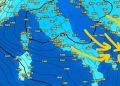 Kthesa e befasishme e motit, po afron cikloni që solli dëborë në Itali, ja çfarë pritet të ndodhë nga nesër