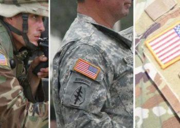 Arsyeja se pse flamuri amerikan është i vendosur mbrapsht në uniforma të ushtrisë